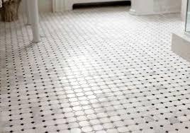 white 2 octagon with black dot buyright carpet tile