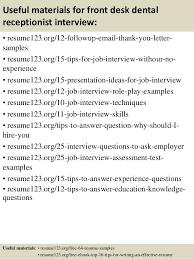 Sample Medical Receptionist Resume by Dental Receptionist Resume Example Dentist Health