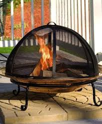 Copper Firepit Copper Pit And Screen From Walpole Woodworkers