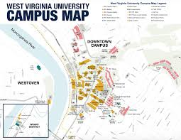 Usa Campus Map by 37 Best Tour Wvu Images On Pinterest Mountaineering Dorm And