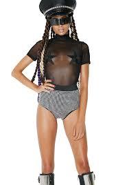 Curtain Call Costumes Size Chart by Burning Man Chrome Studded Rhinestone Black Shorts Dolls Kill