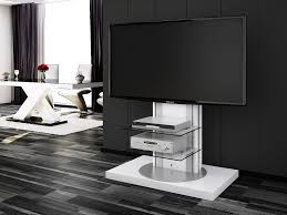 Tv Stands Roma White Swivel High Gloss Tv Stand Modern Tv Stands Tv