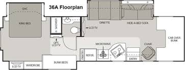 Kodiak Floor Plans Roaming Times Rv News And Overviews