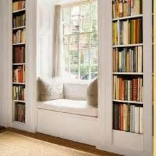 Bookcase Pantry Office Window Seat With Bookcase Jockington Com