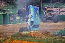 hooked visits houston monster jam fox sports 1 championship