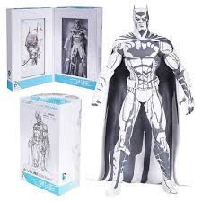 black and white by jim lee action figure