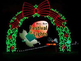 bull run park christmas lights bull run festival of lights holiday light show winter wonderland