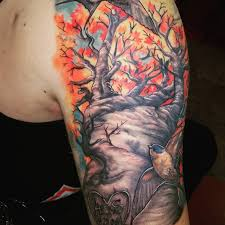 123 brilliant tree tattoos and meanings april 2018 tree