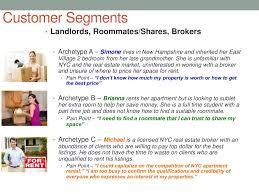 customer segments u2022 landlords roommates shares
