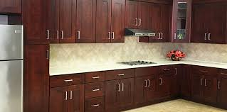 cherry shaker kitchen cabinets lee s kitchen cabinet stone inc