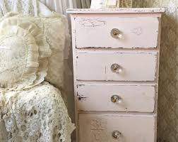 Shabby Chic Lingerie Chest by Bedside Chest Etsy