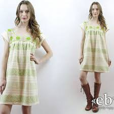 shop bohemian cream dress on wanelo