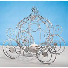 carriage centerpiece fairytale carriage candleholder walmart
