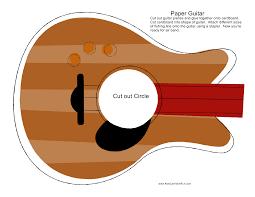 paper instruments paper music paper guitar