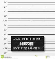 mugshot backdrop lineup or mugshot background stock illustration image