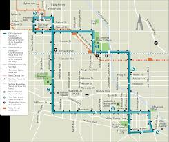 Union Station Los Angeles Map by Dash Van Nuys Studio City Ladot Transit Services