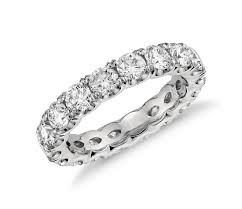 scalloped engagement ring blue nile studio scalloped prong eternity ring in platinum