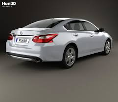 nissan altima 2015 trunk nissan altima sl 2016 3d model hum3d