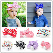 top knot headband baby cotton big bow tie wrap turban top knot headband newborn