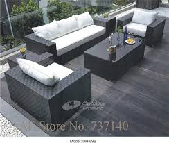 Cheap Outdoor Rattan Furniture by Popular Outdoor Wicker Sectional Furniture Buy Cheap Outdoor