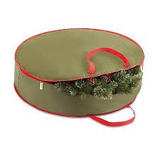 real simple 36 inch wreath storage bag bed bath beyond
