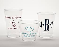 disposable cups personalized plastic disposable cups