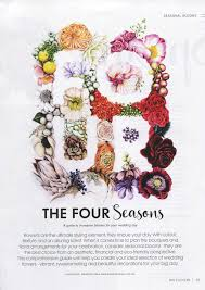 wedding flowers magazine modern wedding flowers magazine 18th annual edition 2015