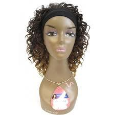 headband wigs vivica a fox headband express half wig tina african american