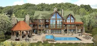 Log Cabin Designs Luxury Log Cabin Floor Plans Log Home Plans Kensington Lodge Log