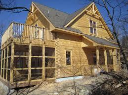 log cabins eastern white pine