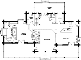 floor plans for log homes log home floor plans montana log homes floor plan 037