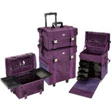 Makeup Artist Collection Lux Rolling Makeup Trolley 2 Compartment Makeup Trolley