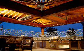 outdoor kitchen lighting ideas 7 inspirational outdoor kitchens