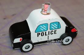 cool car toy doodlecraft cooler police car toy