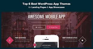 themes you top 6 best wordpress app themes for landing pages app showcases
