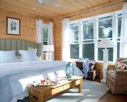 Pine Interior Walls Tips U0026 Ideas Knotty Pine Walls With White Trim At Traditional