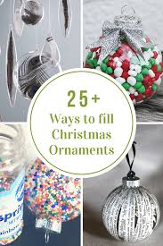 Christmas Ornaments Michaels 25 Ways To Fill A Christmas Ornament The Idea Room