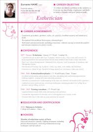 esthetician resume exles esthetician resume cover letter professional esthetician cover