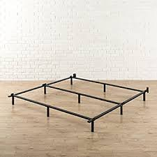 amazon com zinus compack 7 inch heavy duty bed frame for box