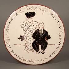 personalized wedding plate made 8 personalized pennsylvania wedding plate by