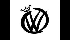 volkswagen logo crown decal