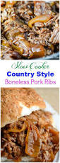 Crock Pot Barbecue Ribs Country Style - best 25 country pork ribs ideas on pinterest crock pot country