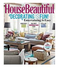 house beautiful magazine house beautiful magazine 4 99 year my frugal adventures