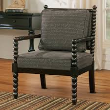 accent chair dark brown accent chair polyester hardwood material
