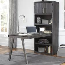 what is a desk return raventown desk in grayish brown nebraska furniture mart