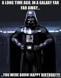 Star Wars Birthday Meme - star wars birthday pinteres