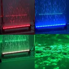 color changing led fish tank lights remote submersible colorful air bubble aquarium light fish tank