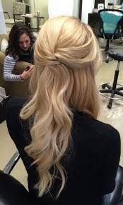 mother of the bride hairstyles partial updo pretty half up half down wedding hairstyle partial updo bridal