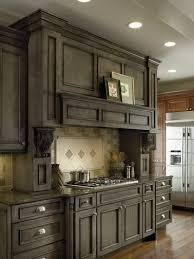 gray brown stained kitchen cabinets 24 rustic kitchen cabinet ideas for 2021 stained kitchen