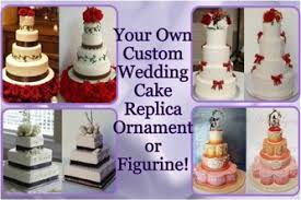 raye s miniatures wedding cake replica ornaments and doll